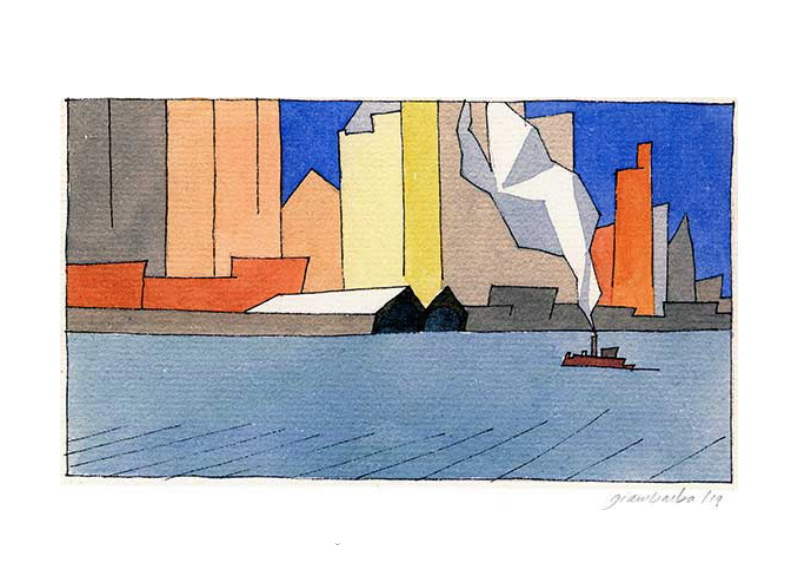 Paul Giambarba - ENTERING NEW YORK HARBOR